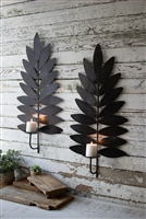 Leaf Sconces