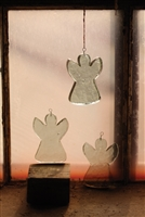 Glass Angel Sun-Catchers: Set of 4