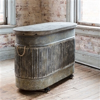 Farmhouse Watering Trough Console Table/Kitchen Island.