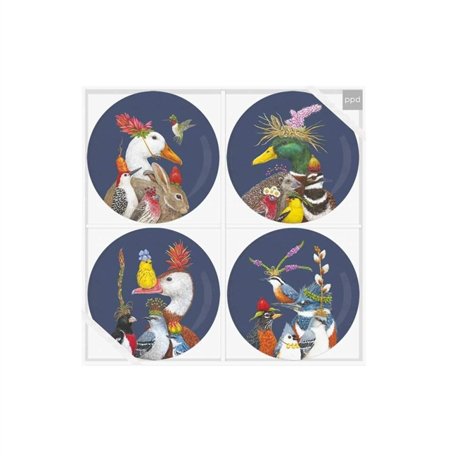 Group Chat Plate Set (4)