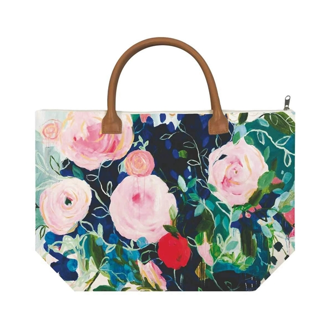 Rosetta Canvas Tote Bag