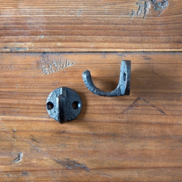 Cast Iron Small Hat Hooks