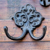 Cast Iron Hotel Towel Hook