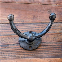 Cast Iron Lucky Towel Hook