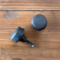 Small Cast Iron Button Knob
