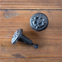 Embossed Cast Iron Knob