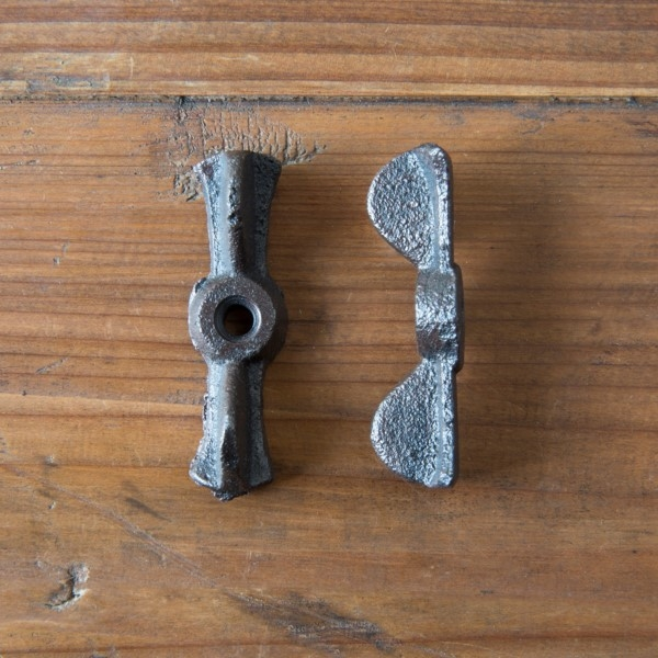 Cast Iron Bowtie Turn Latch