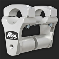 "ROX 2"" Pivoting Bar Risers for 1 1/8"" Handlebar (with Extended Stem)"