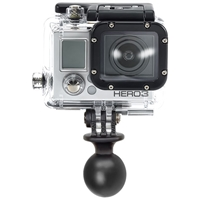 "RAM 1"" Ball with Custom GoPro® Hero Adapter"