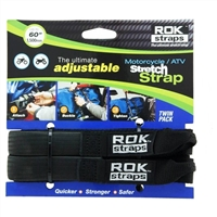 "ROK Motorcycle/ATV Adjustable Stretch Straps - Heavy Duty - 1"" x 60"""