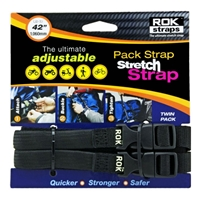 "ROK Pack Adjustable Stretch Straps - Medium Duty - 5/8"" x 42"""