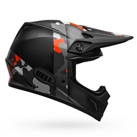 Bell MX-9 MIPS Helmet - Presence Orange Camo