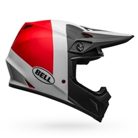 Bell MX-9 MIPS Helmet - Presence White/Red