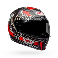 Bell Qualifier DLX MIPS Helmet - Isle of a Man 2020 Gloss Red/Black/White