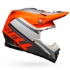 Bell Moto-9 MIPS Prophecy Helmet - Matte Orange/Black/Grey