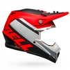 Bell Moto-9 MIPS Prophecy Helmet - Matte White/Red/Black