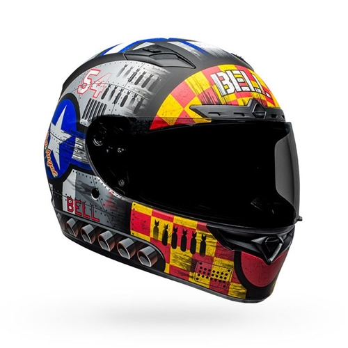Bell Qualifier DLX MIPS Helmet - Devil May Care 2020 Matte Grey