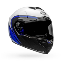 Bell SRT Helmet - Assassin Gloss White/Blue/Black