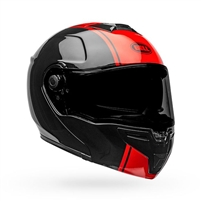 Bell SRT-MODULAR Helmet - Ribbon Gloss Black/Red