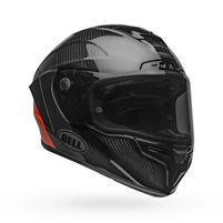 Bell Race Star Flex DLX Helmet - Lux Matte/Gloss Black/Orange