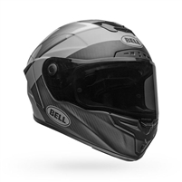 Bell Race Star Flex DLX Helmet - Surge Matte/Gloss Brushed Metal/Grey