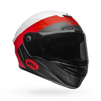 Bell Race Star Flex DLX Helmet - Surge Matte/Gloss White/Red