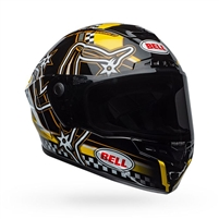 Bell Star MIPS DLX - Isle of Man Gloss Black/Yellow