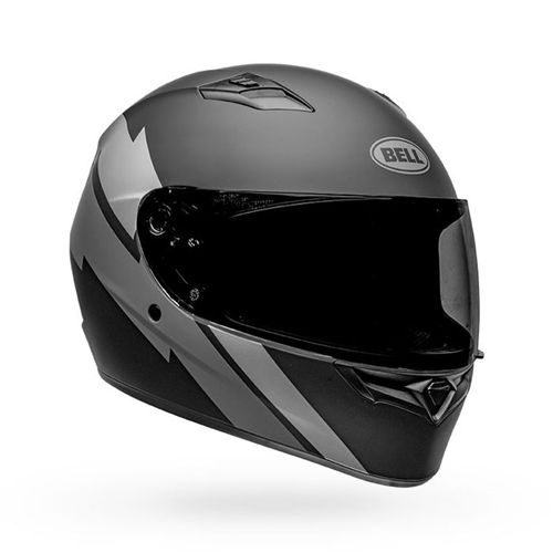 Bell Qualifier Helmet - Raid Matte Black/Grey