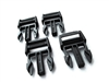 "Wolfman 1"" male buckles - 4 pack"