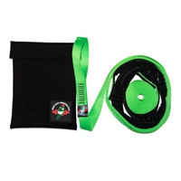 Green Chile Dynatow Dynamic Motorcycle Tow Strap