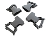 "Wolfman 1"" Female Quick Clip Repair Buckles - 4 Pack"