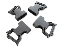 "Wolfman 1"" Female Quick Clip Repair Buckles 4 Pack"