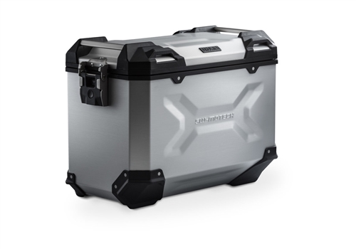 SW-MOTECH TraX Adventure | 45 Litre Side Case - Left | Silver