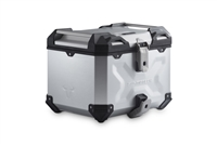SW-MOTECH TraX Adventure | 38 Litre Top Case | Silver