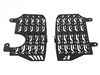 Radiator Guards for the Honda CRF1000L Africa Twin - Black