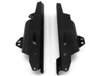 Fork Leg Guards for the Honda CRF1000L Africa Twin - Black