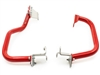 Lower Crash Bars for the Honda CRF1000L Africa Twin (with installation bracket) - Red