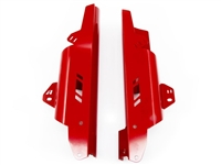 Fork Leg Guards for the Honda CRF1000L Africa Twin - Red