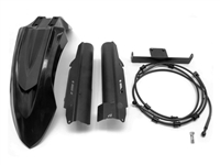 AltRider High Fender Kit for the Honda CRF1000L Africa Twin Adventure Sports - Black