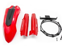 AltRider High Fender Kit for the Honda CRF1000L Africa Twin Adventure Sports - Red