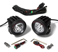 Cyclops Long Range Optimus Led Auxiliary Light Round - Combo 10/20