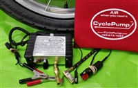 BESTREST CyclePump Tire Inflator  (90  DEGREE RIGHT ANGLE CHUCK VERSION)