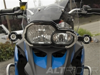 Clear Headlight Guard Kit for the BMW F 700 GS