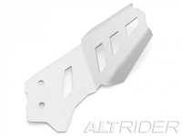 Rear Exhaust Guard for BMW F 800 GS - Silver