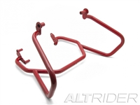 Crash Bars for the BMW F 800 GS - Red