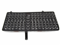 Radiator Guard for 2013 and Newer BMW F 800 GS - Black
