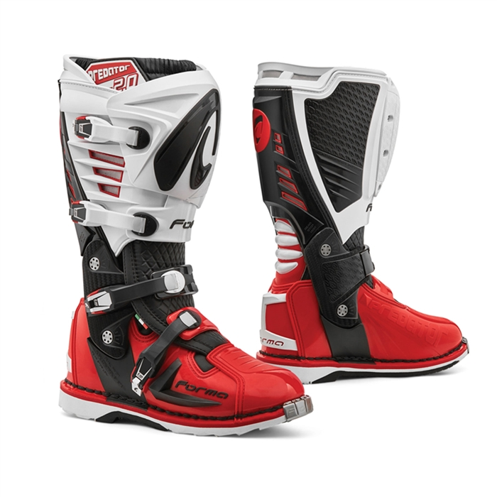Forma Predator 2.0 Boots - Black/White/Red