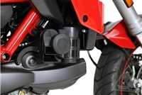 Denali Auxiliary Horn Mounting Bracket For Ducati Multistrada 1200 & 1200s (All Editions) '10-'14