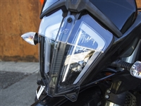 AltRider Clear Headlight Guard for the KTM 790 Adventure / R