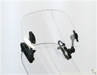 MRA X-creen Add-On Variable Windscreen Spoiler Blade (clamp-on)